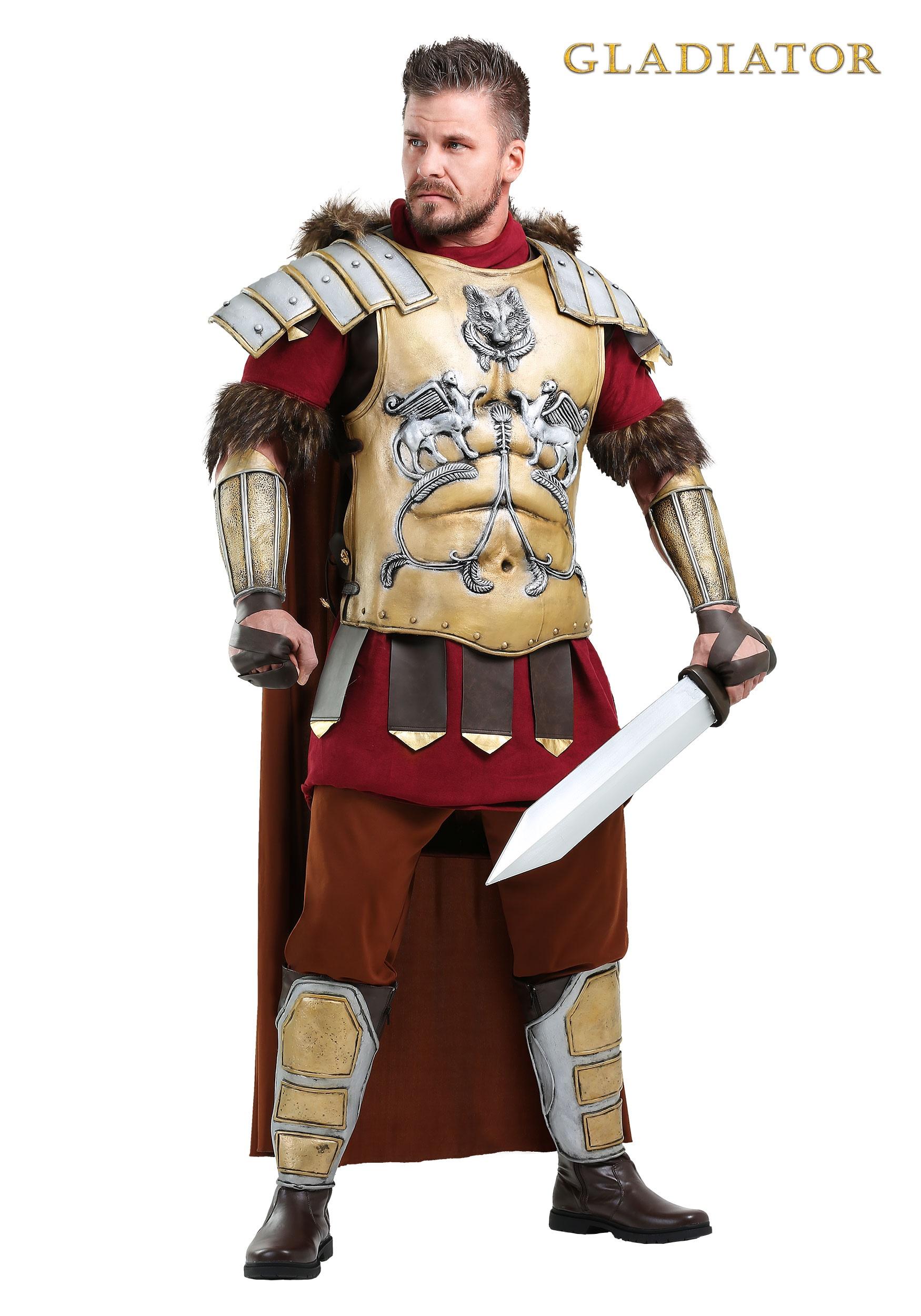 Gladiator general maximus costume for men mens gladiator general maximus costume solutioingenieria Gallery