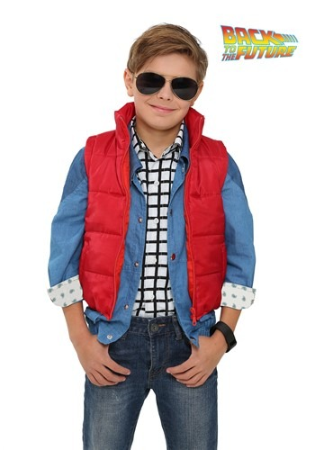 Boys Marty McFly Vest from Back to the Future
