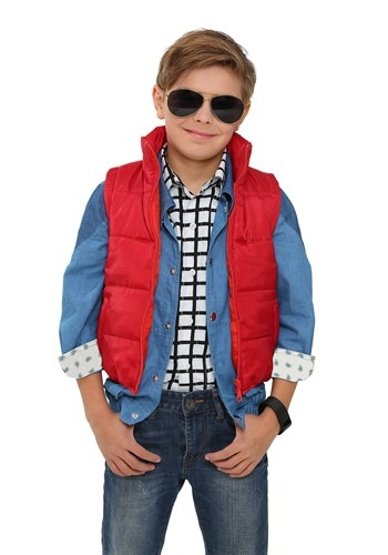 Back to the Future Child Marty McFly Vest BTF2240CH-ST