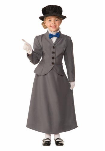 English Nanny Costume for Kids