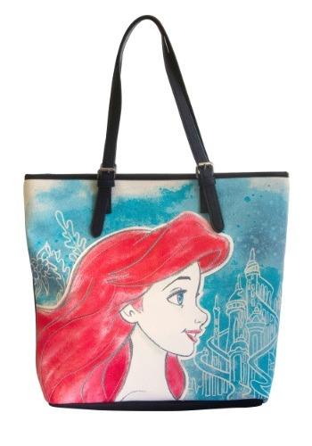 Little Mermaid Pastel Ariel Tote Bag
