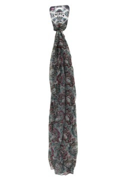 Doctor Who Seventh Doctor Paisley Print Scarf