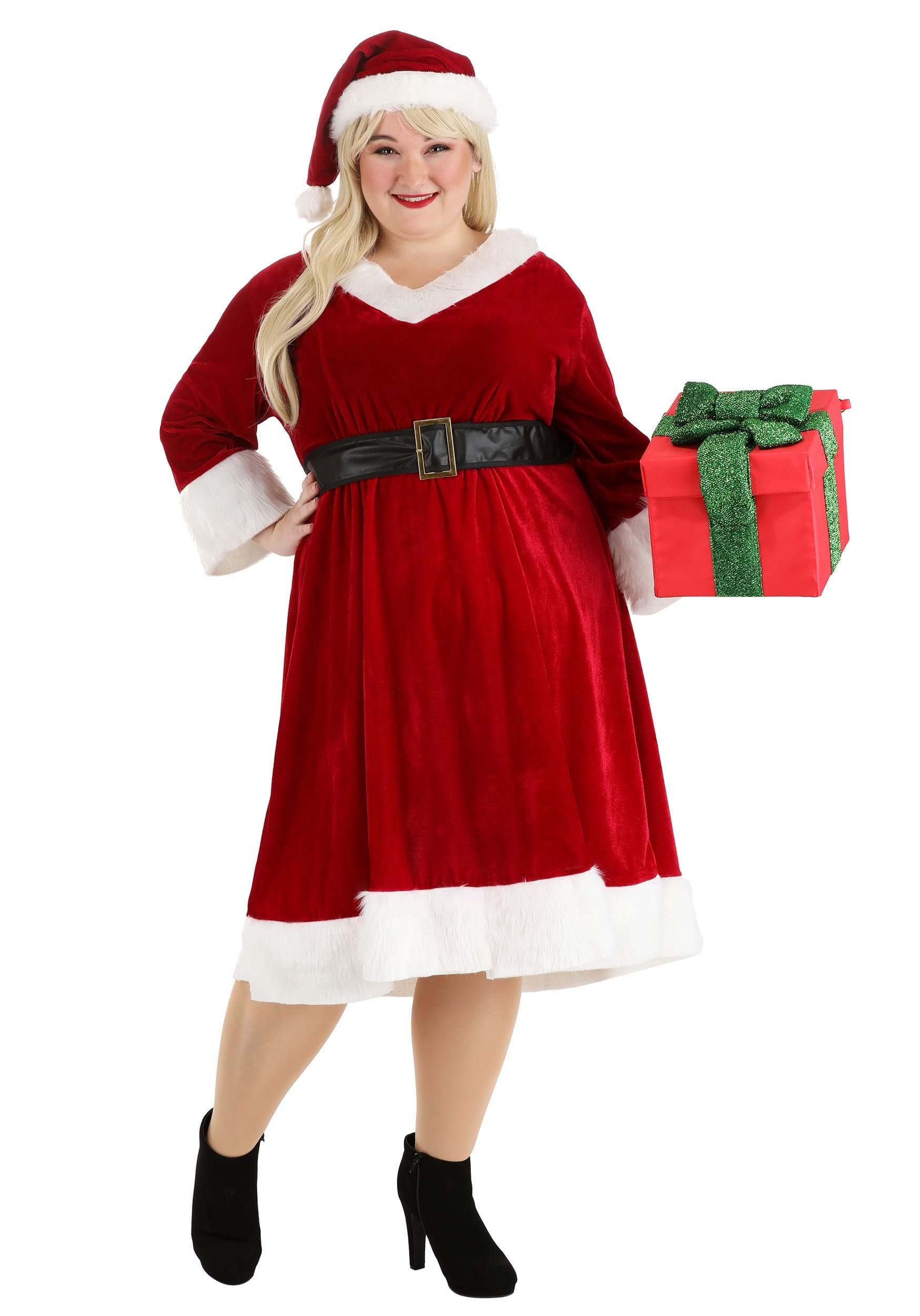 Women\'s Santa Claus Sweetie Plus Size Costume