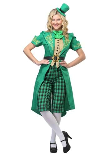 Womens Charming Leprechaun Costume