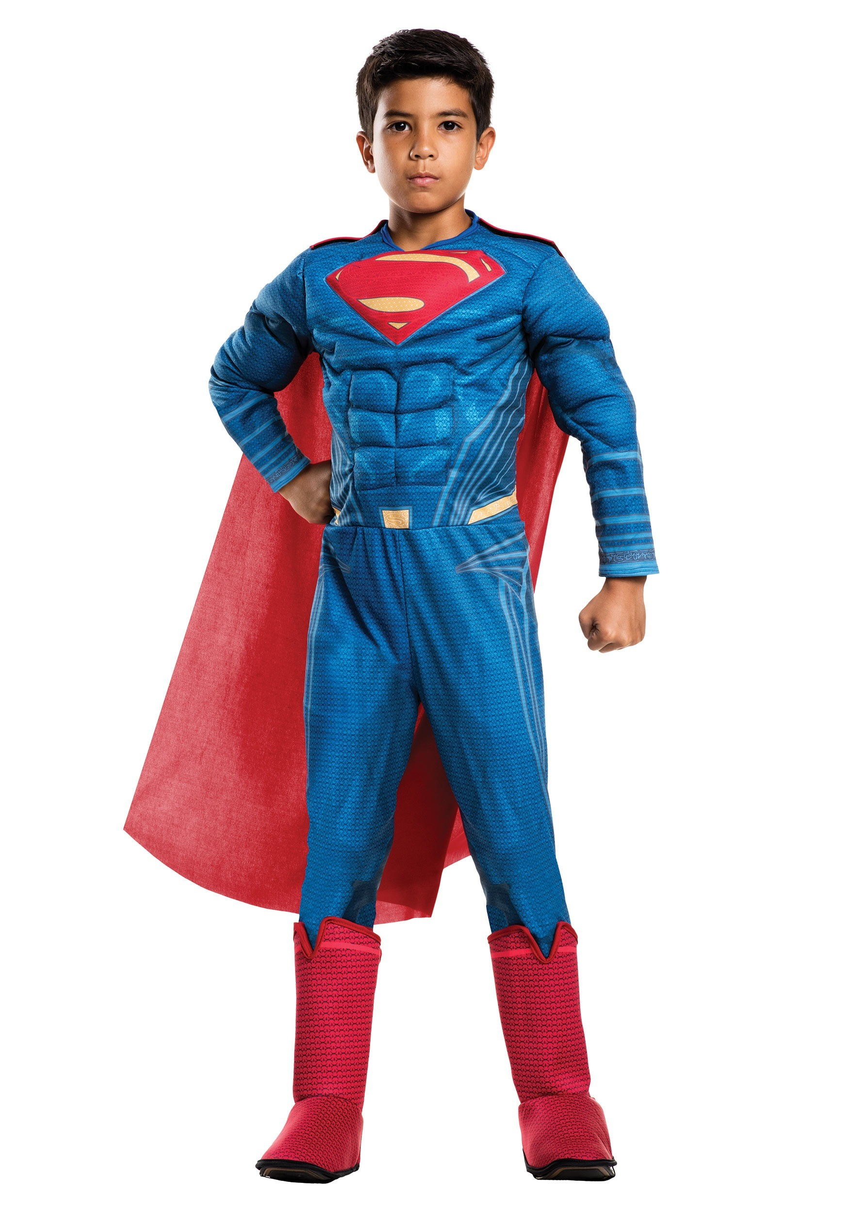 Deluxe Child Dawn of Justice Superman Costume  RU620568
