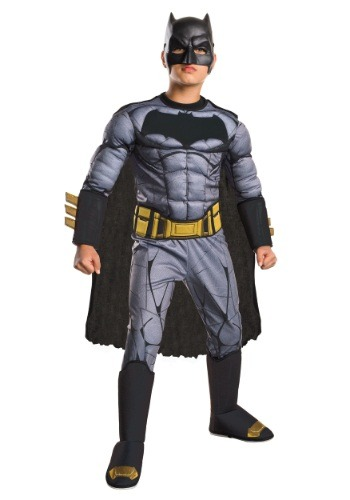 Deluxe Dawn of Justice Batman Boys Costume