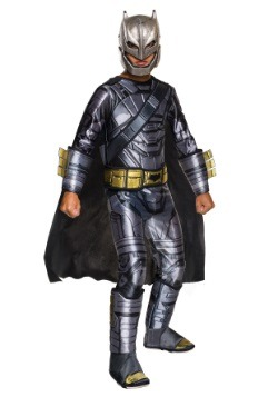 Child Deluxe Armored Batman Costume from Dawn of Justice  sc 1 st  Fun.com & Deluxe Dawn of Justice Batman Costume for Boys