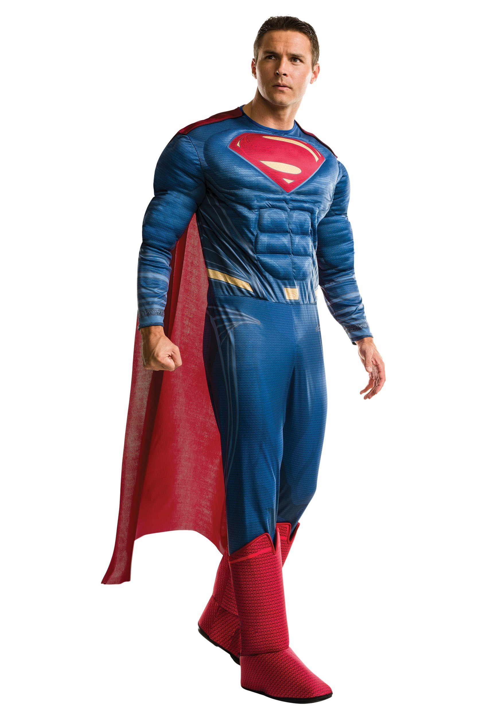 superman dawn of justice deluxe mens costume