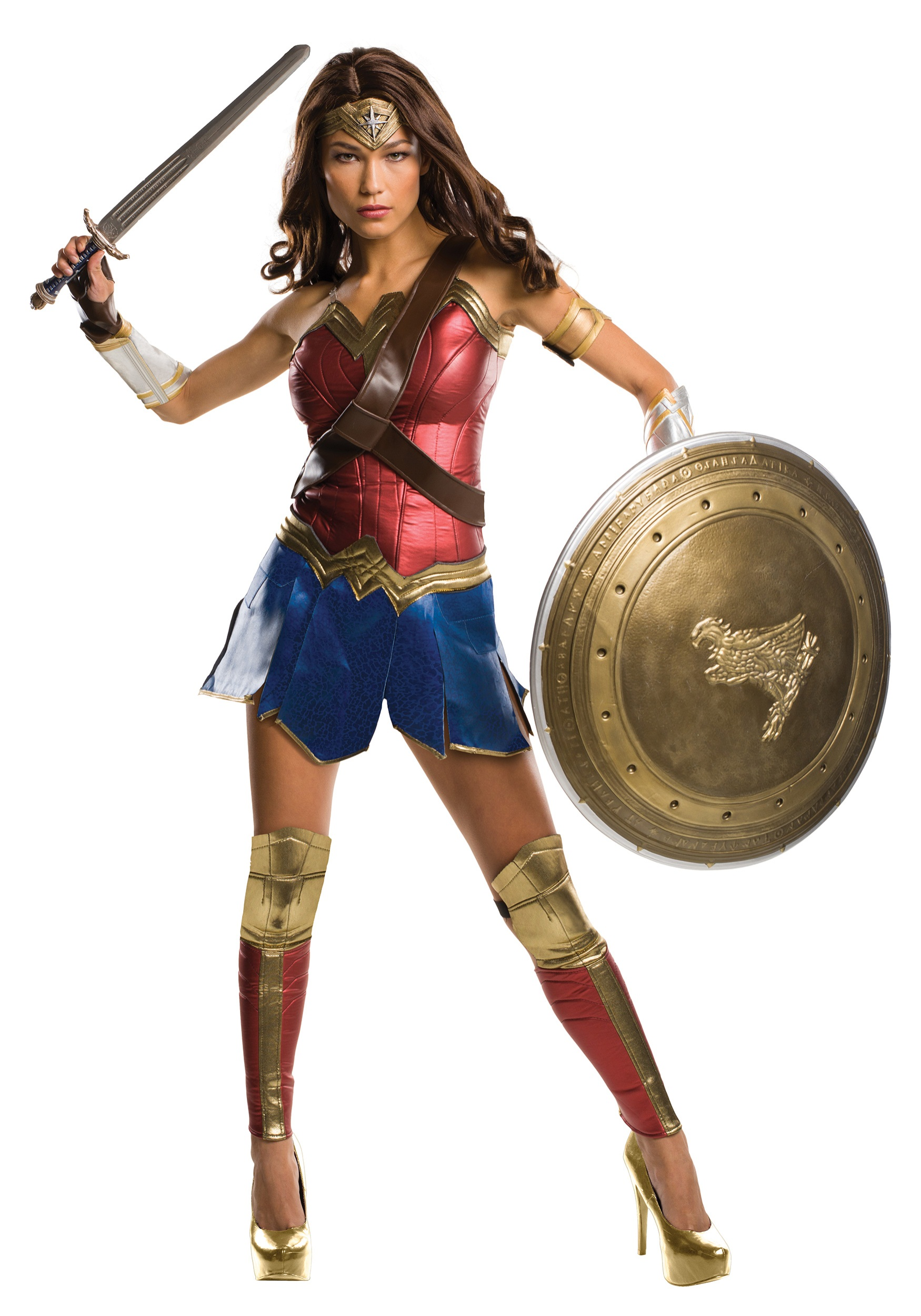 Wonder Woman Dawn of Justice Grand Heritage Womenu0027s Costume  sc 1 st  Fun.com & Wonder Woman Dawn of Justice Grand Heritage Costume for Women