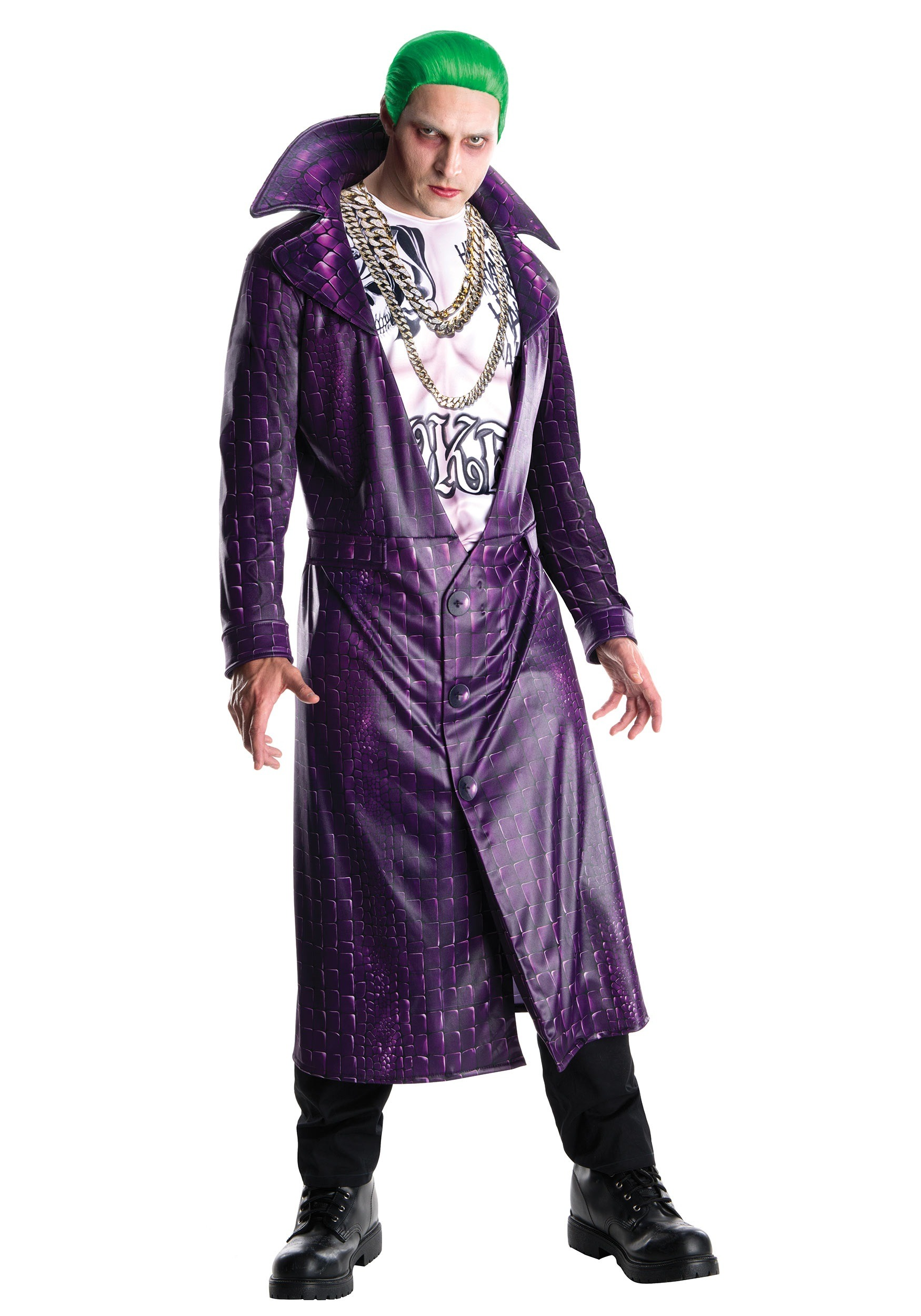 Deluxe Joker Suicide Squad Menu0027s Costume  sc 1 st  Fun.com & Deluxe Joker Suicide Squad Costume for Men