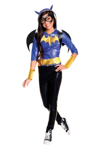 Girls DC Superhero Batgirl Deluxe Costume
