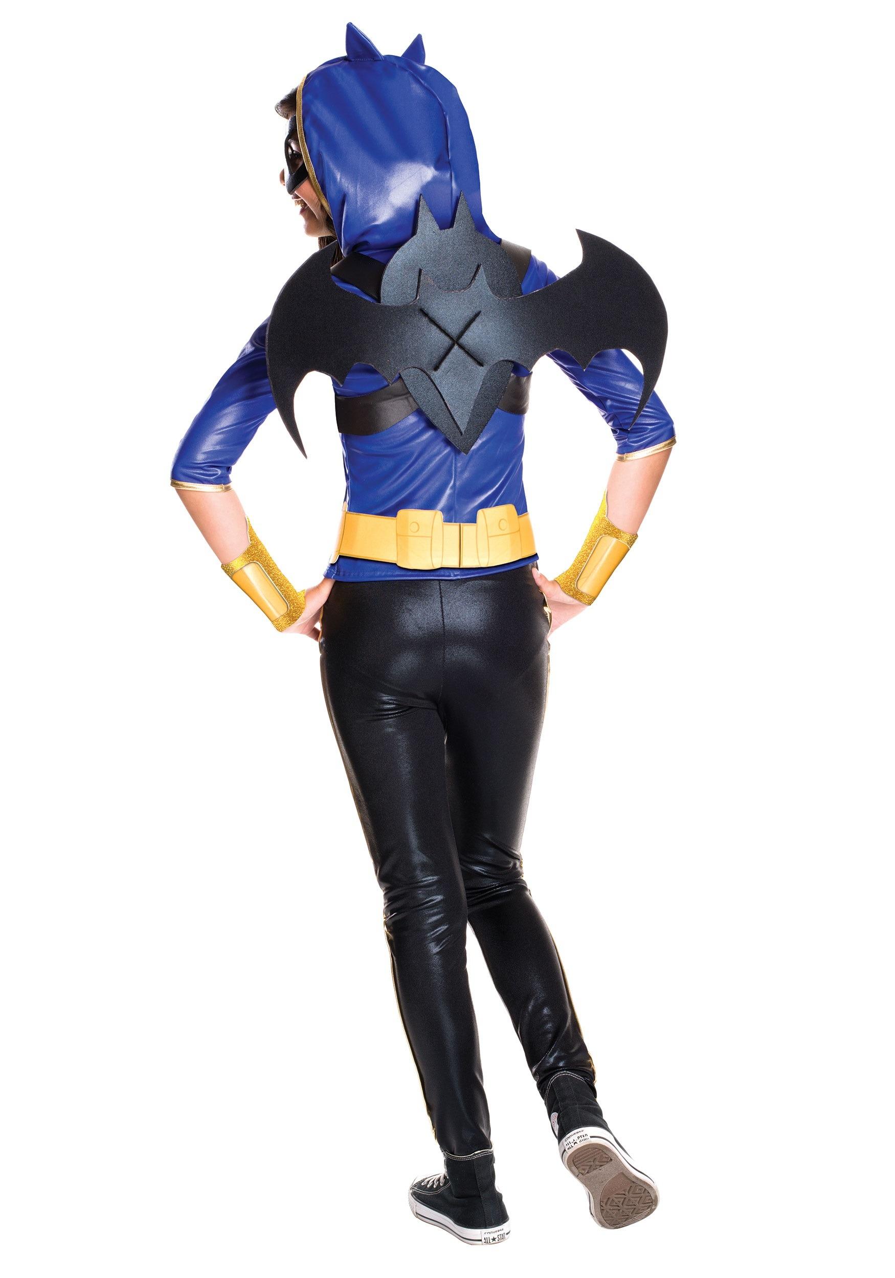 Girls Dc Superhero Batgirl Deluxe Costume-8157