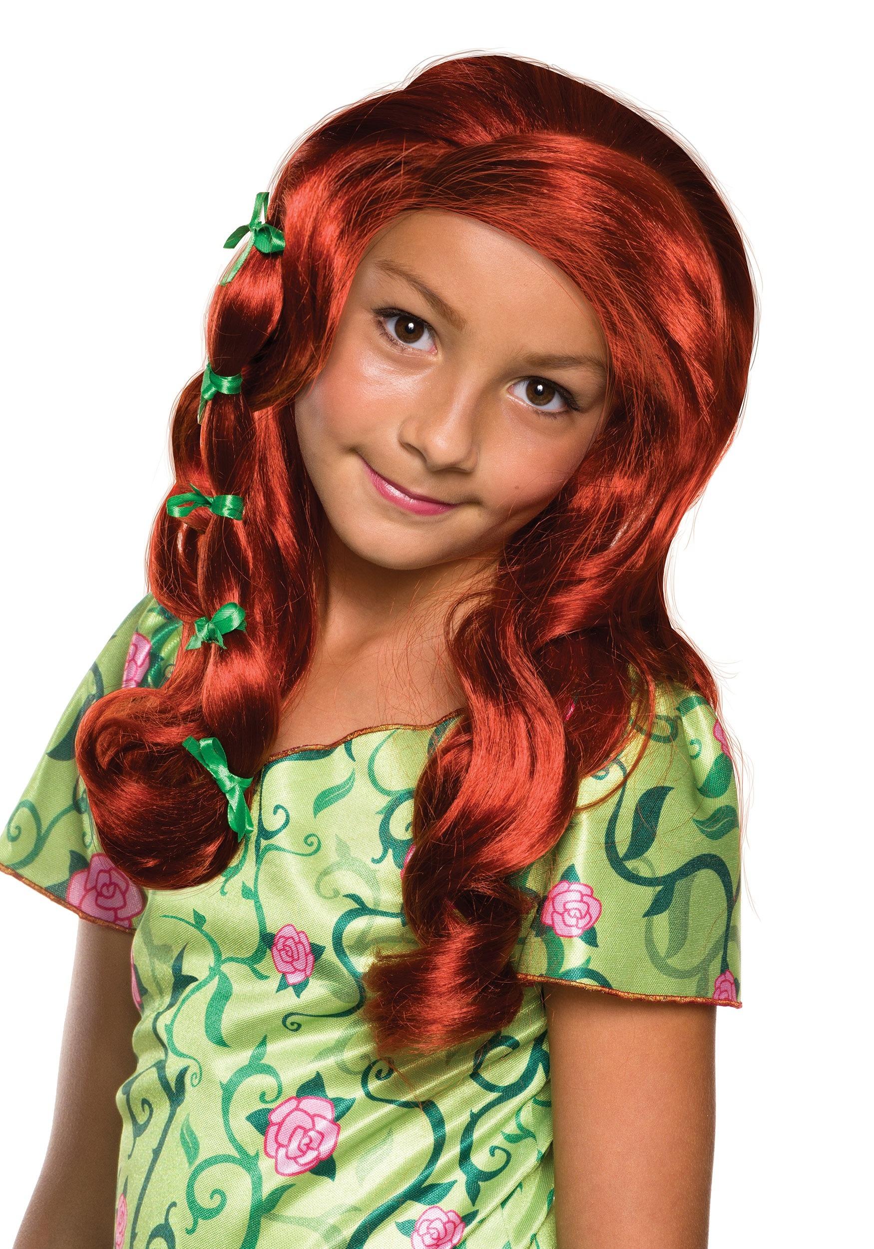 Girls DC Superhero Poison Ivy Wig RU32970