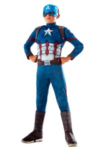 Boys Captain America Deluxe Costume Update1