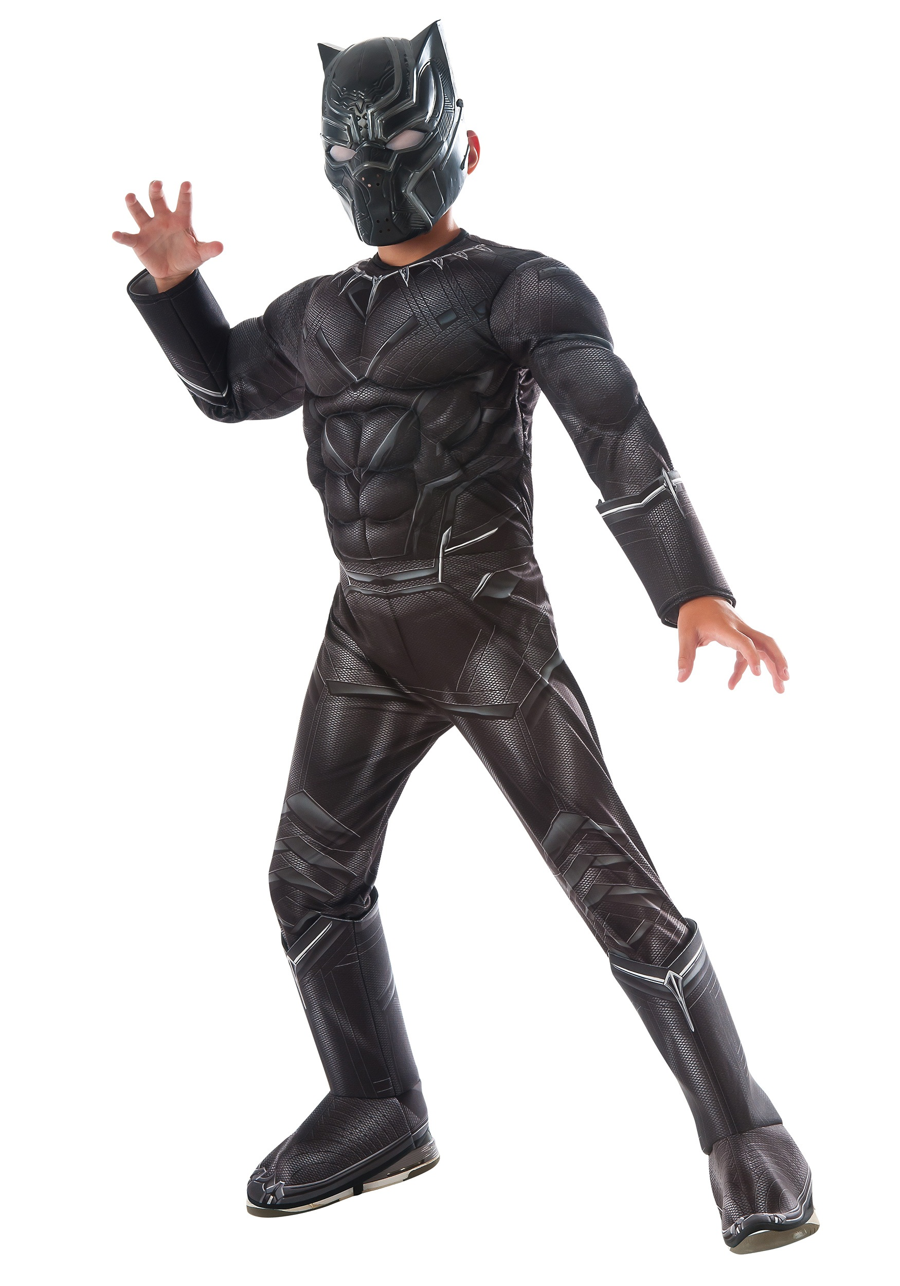 04cd55ff3 Boys Black Panther Civil War Deluxe Costume