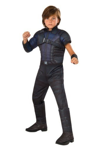 Boys Hawkeye Civil War Deluxe Costume