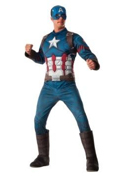 Deluxe Captain America Civil War Men's Costume
