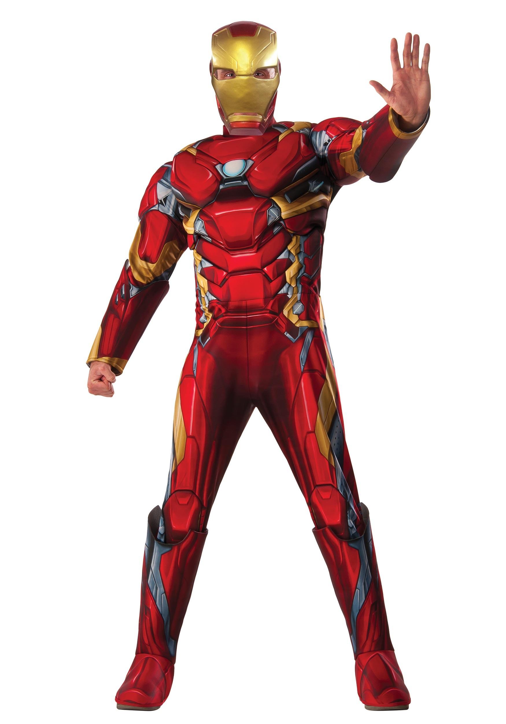 Iron Man Civil War Deluxe Costume for Men