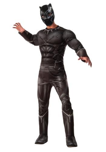 Deluxe Black Panther Civil War Mens Costume RU810969