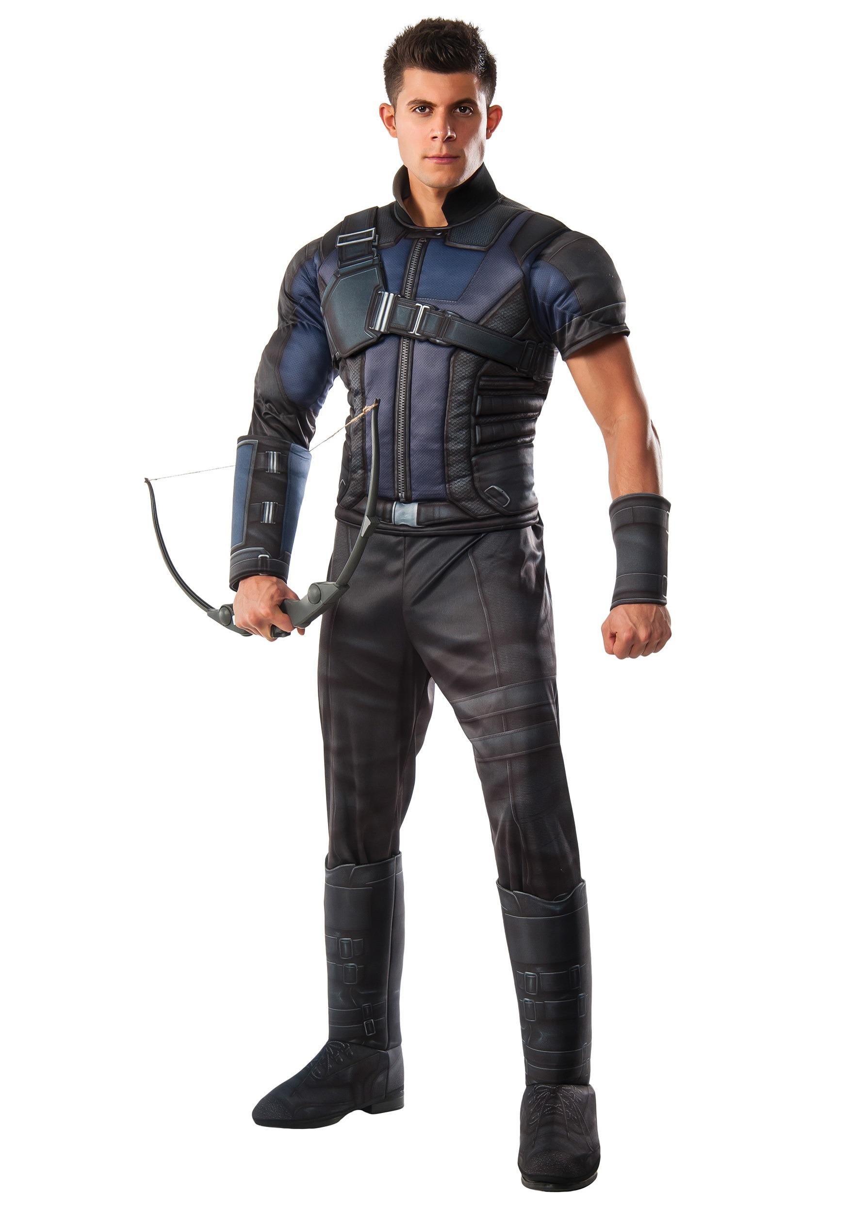 Deluxe Hawkeye Civil War Men's Costume RU810972