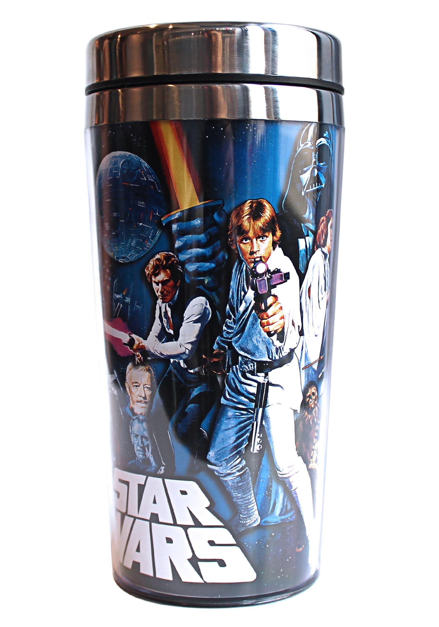 Star Wars Poster 16oz Steel Travel Mug SBSW4487ST