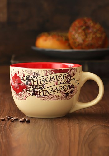 Marauders Map Harry Potter 24oz Ceramic Soup Mug Update