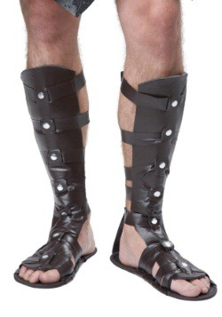 Deluxe Gladiator Sandals for Adults