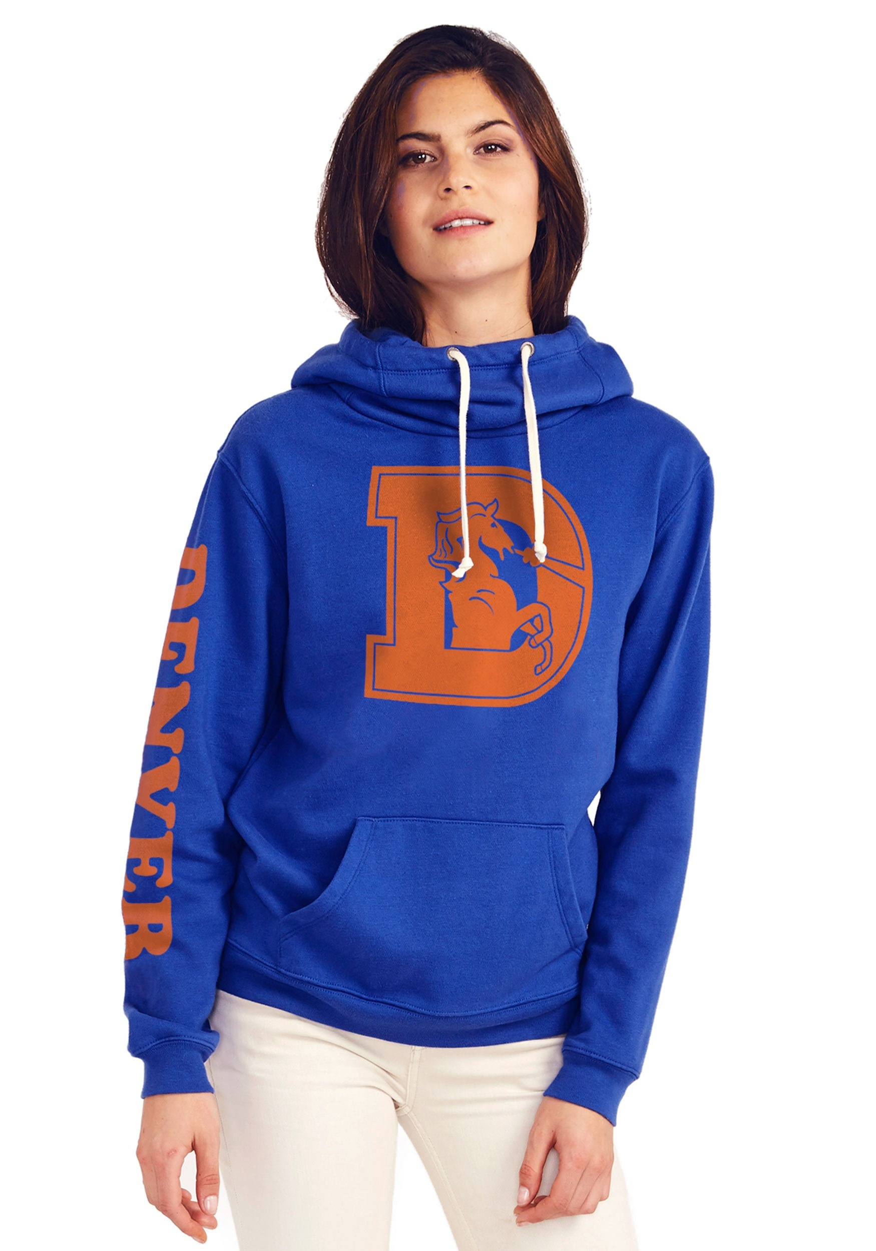 various colors 928a9 05a0b broncos hoodies for women