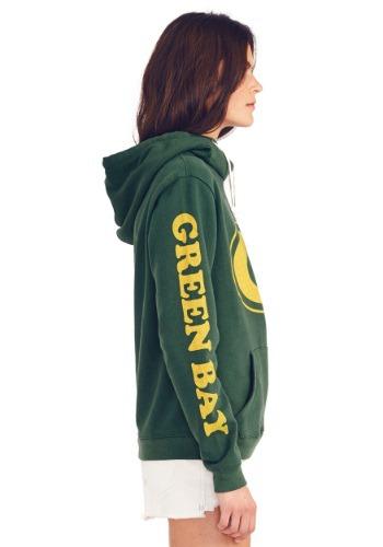 Green Bay Packers Women s Cowl Neck Hooded Sweatshirt 782c0c01b