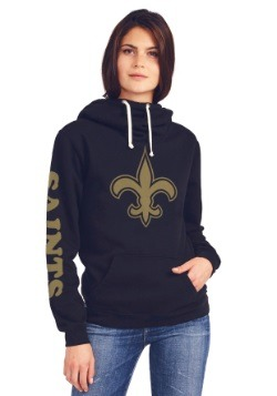 New Orleans Saints Cowl Neck Women's Hoodie