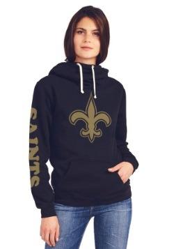 New Orleans Saints Cowl Neck Women's Hoodie