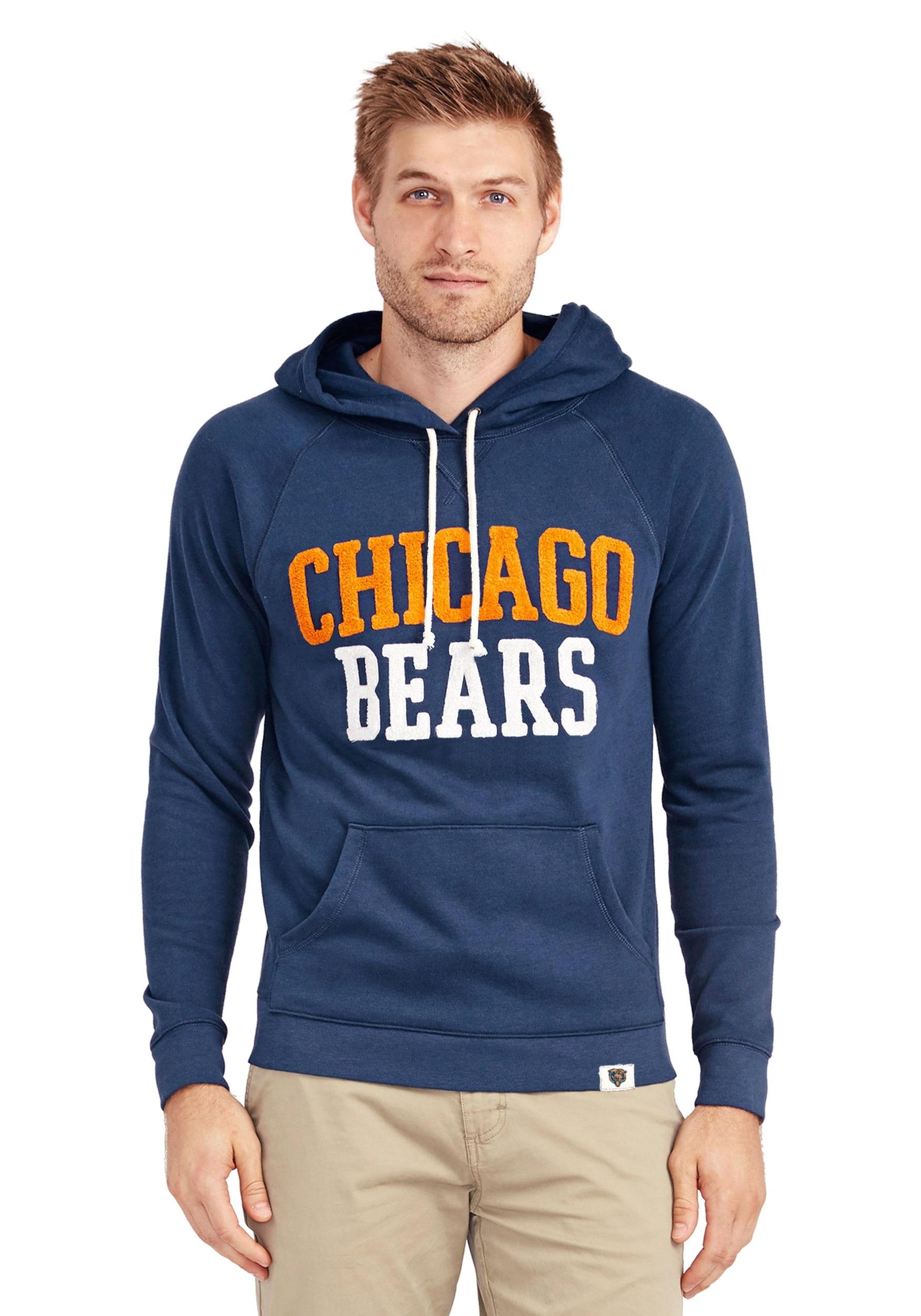 Chicago bears hoodie men
