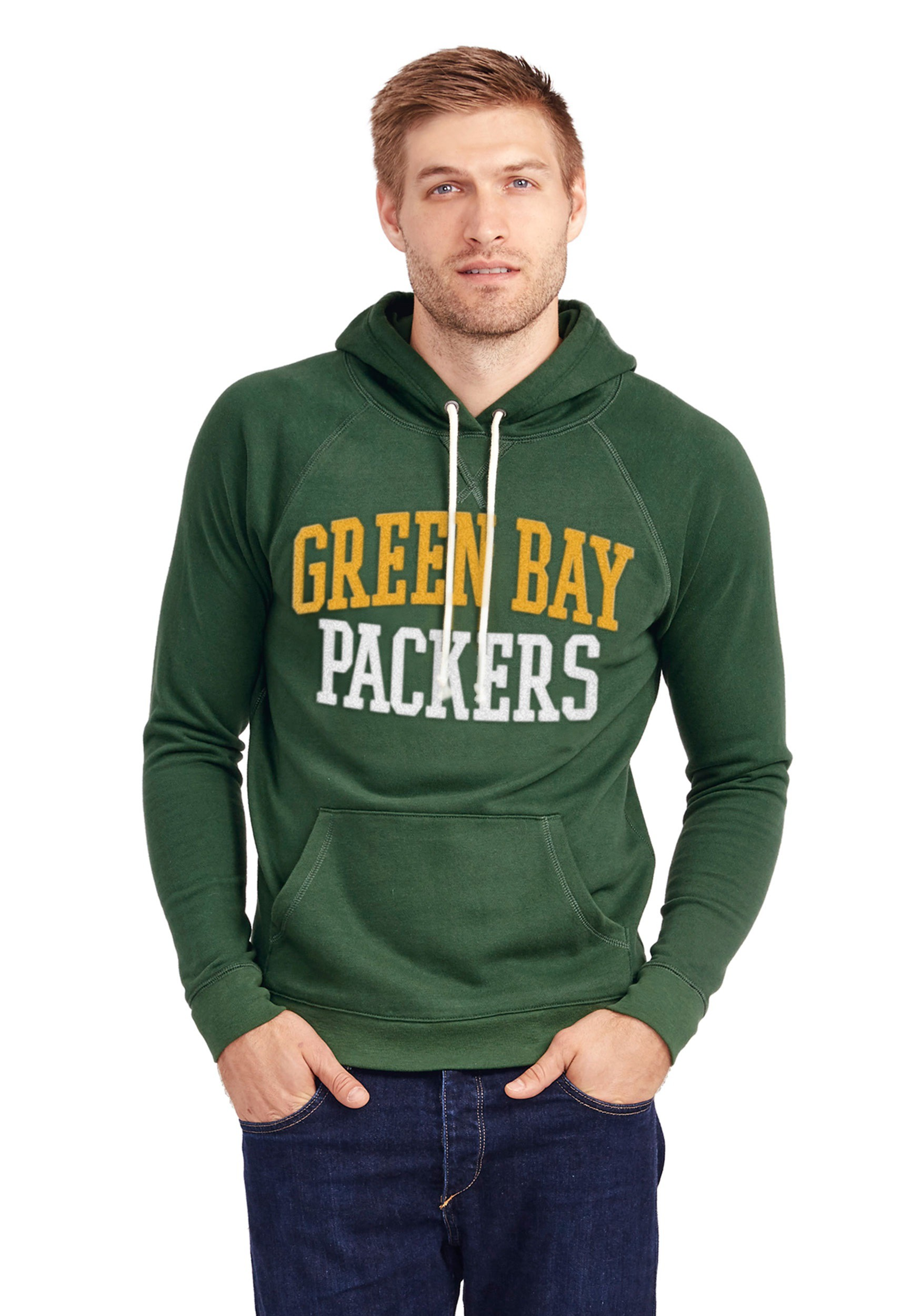 59f7e45e2 Green Bay Packers Half Time Hoodie for Men