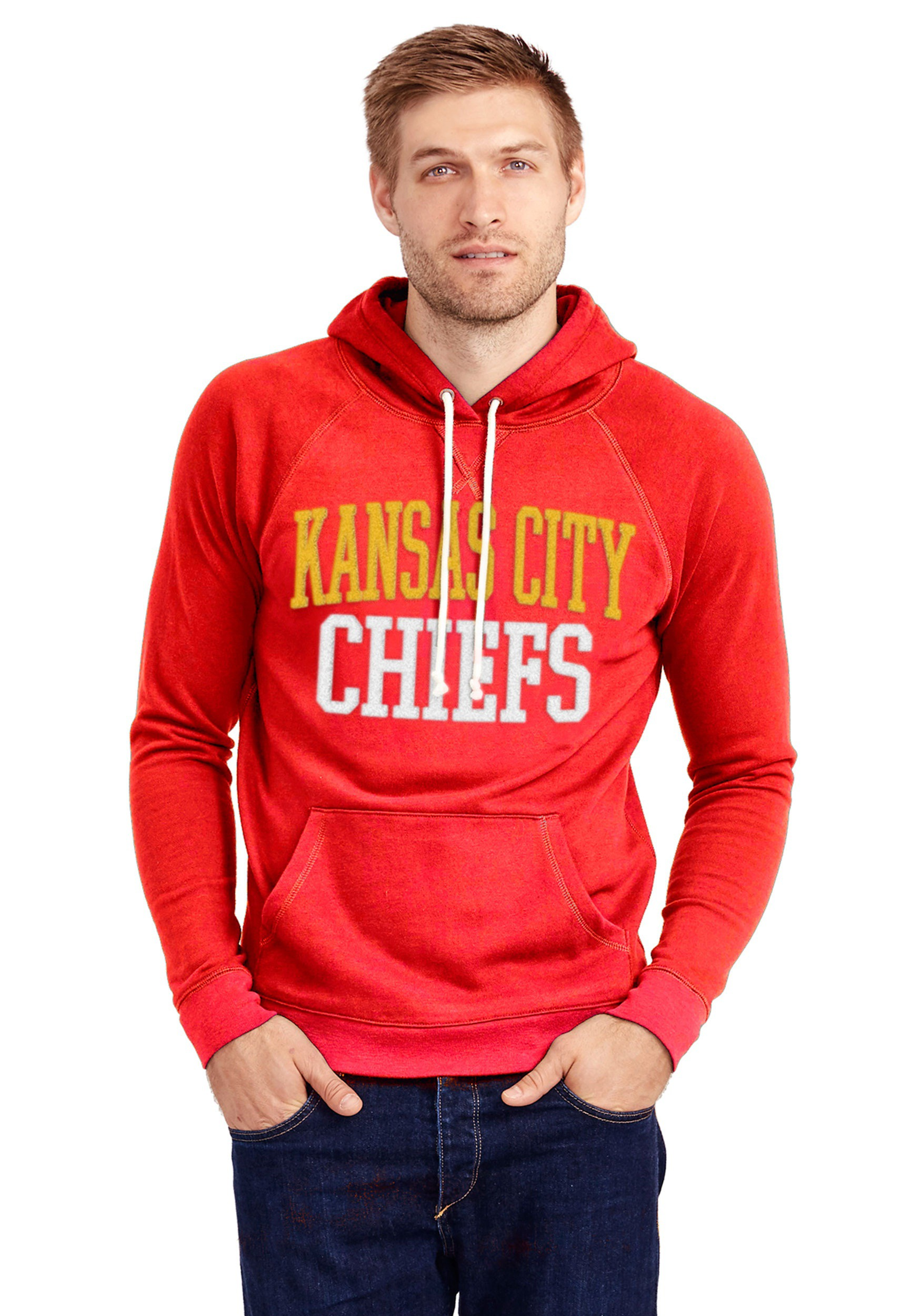 official photos 8f16f 5cca0 Kansas City Chiefs Half Time Mens Hoodie