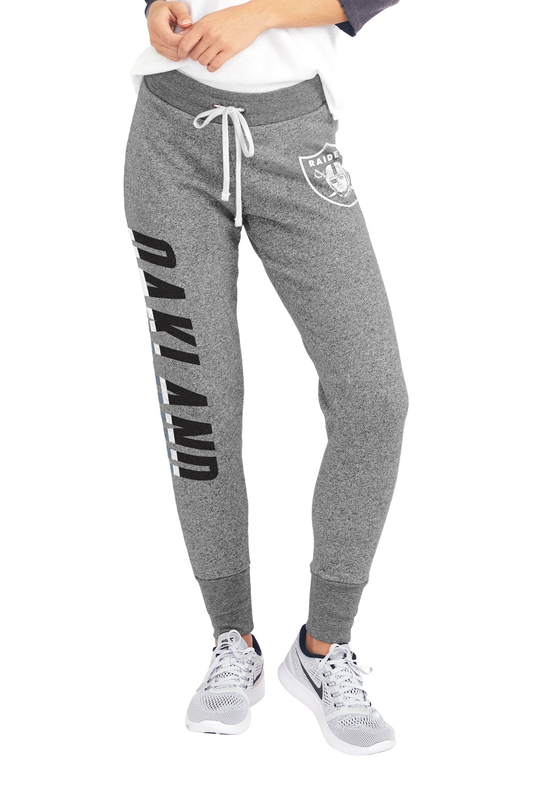 promo code e952d 5a4c6 Oakland Raiders Womens Sunday Sweatpants