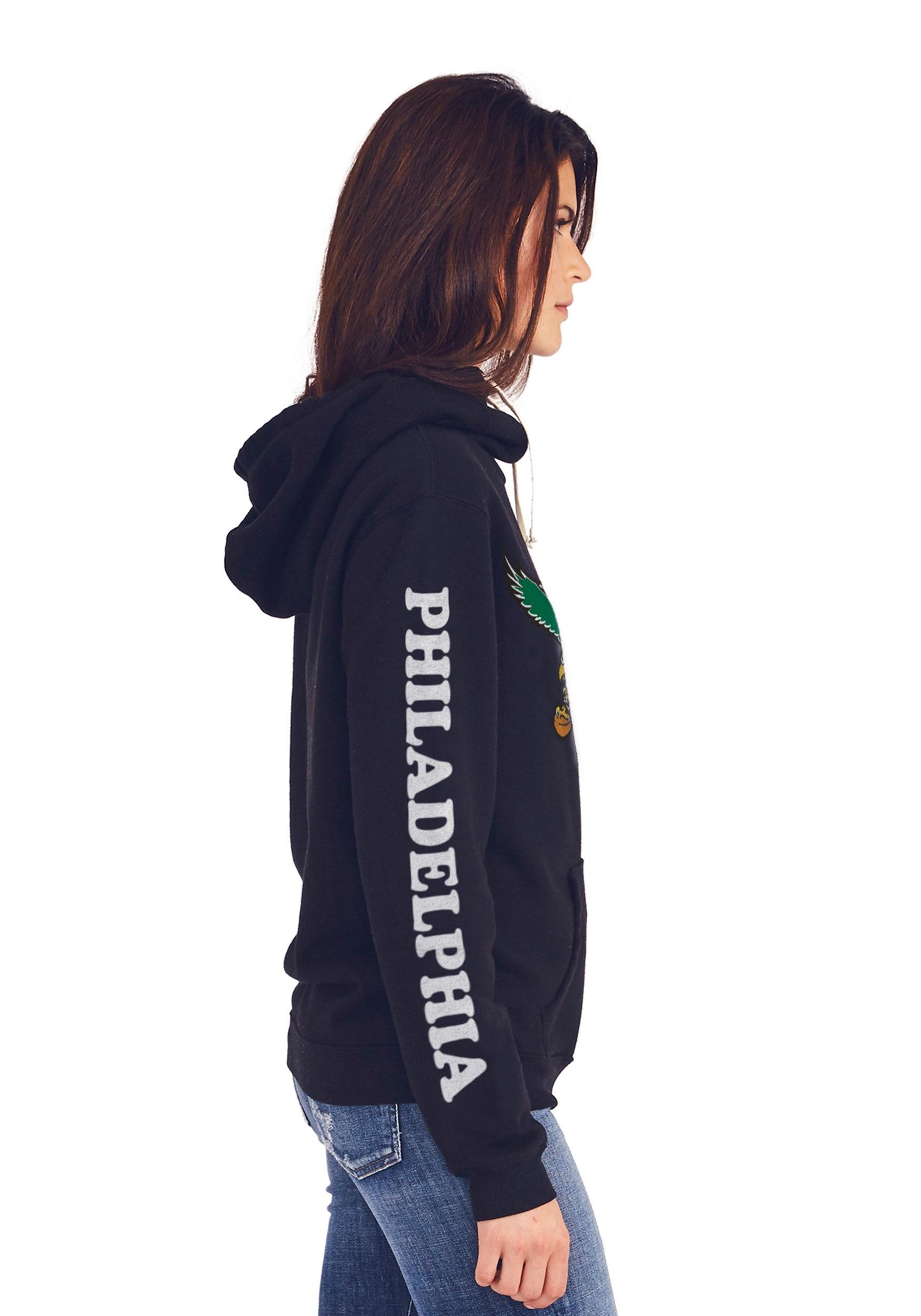 Philadelphia Eagles Women's Cowl Neck Hooded Sweatshirt