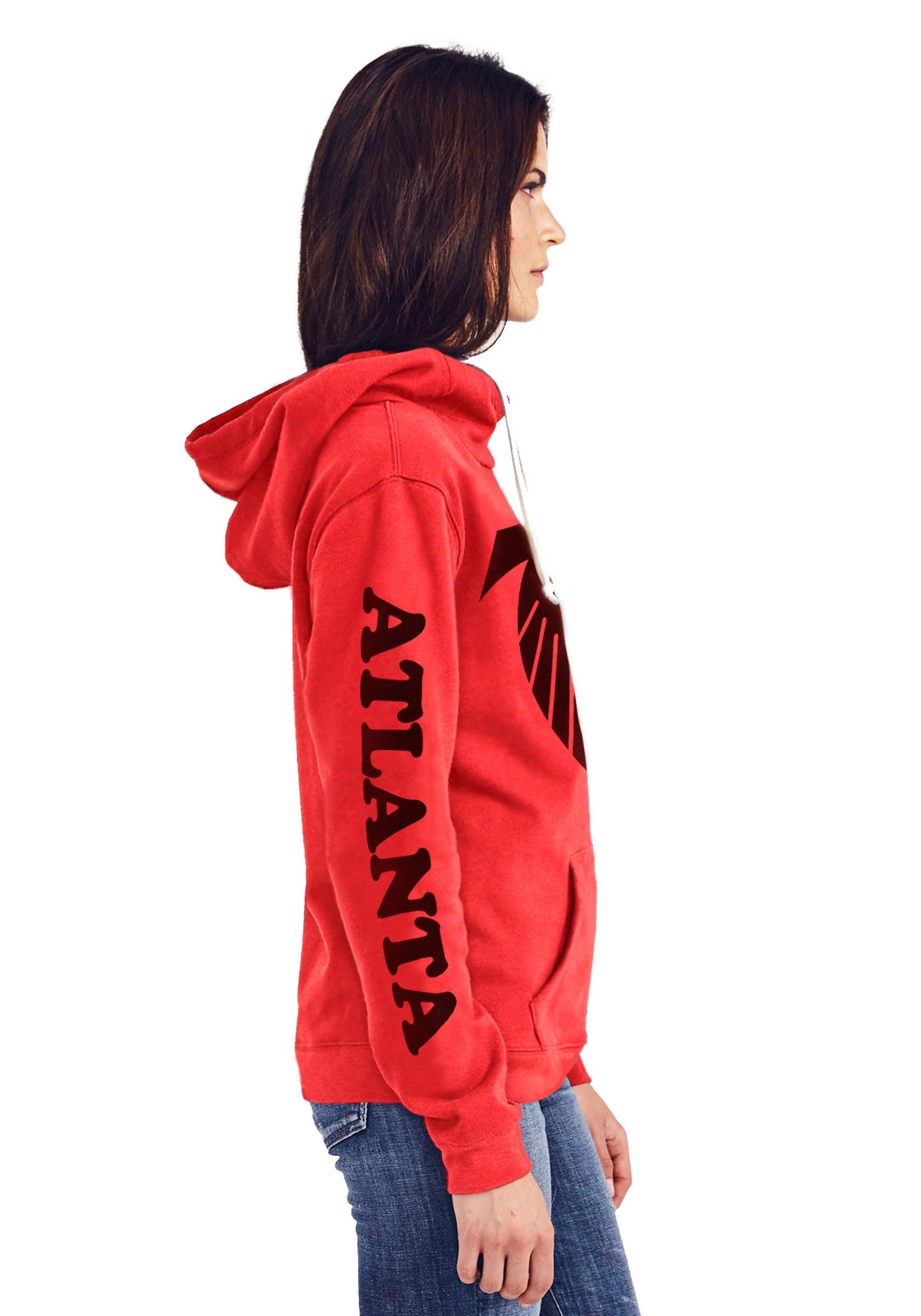 25a642c1 Atlanta Falcons Women's Cowl Neck Hooded Sweatshirt