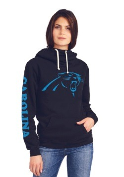 Carolina Panthers Cowl Neck Women's Hoodie