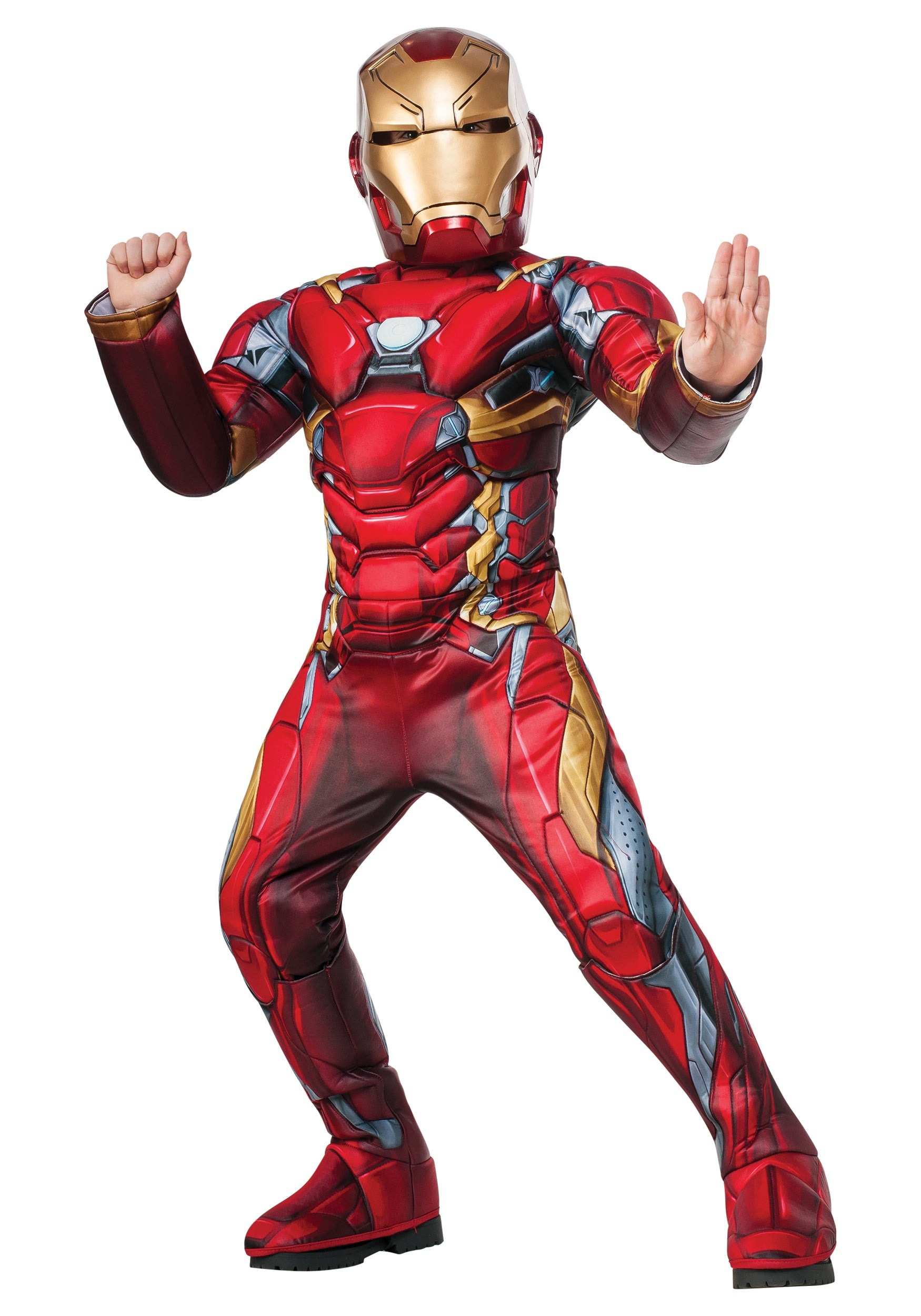 Boys Elite Iron Man Civil War Costume RU620755