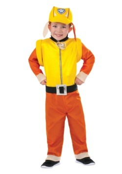 Paw Patrol Rubble Kids Costume