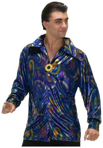 Dynamite Dude Disco Shirt Costume