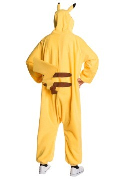 Pikachu Jumpsuit Adult Costume