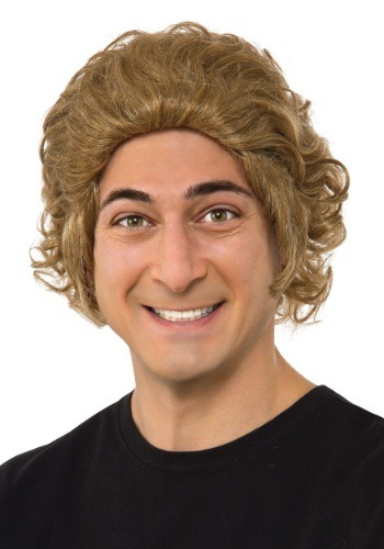 Willy Wonka Mens Wig