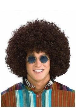Hippie Retro Afro Wig  sc 1 st  Fun.com & Girlu0027s Flower Power Hippie Costume
