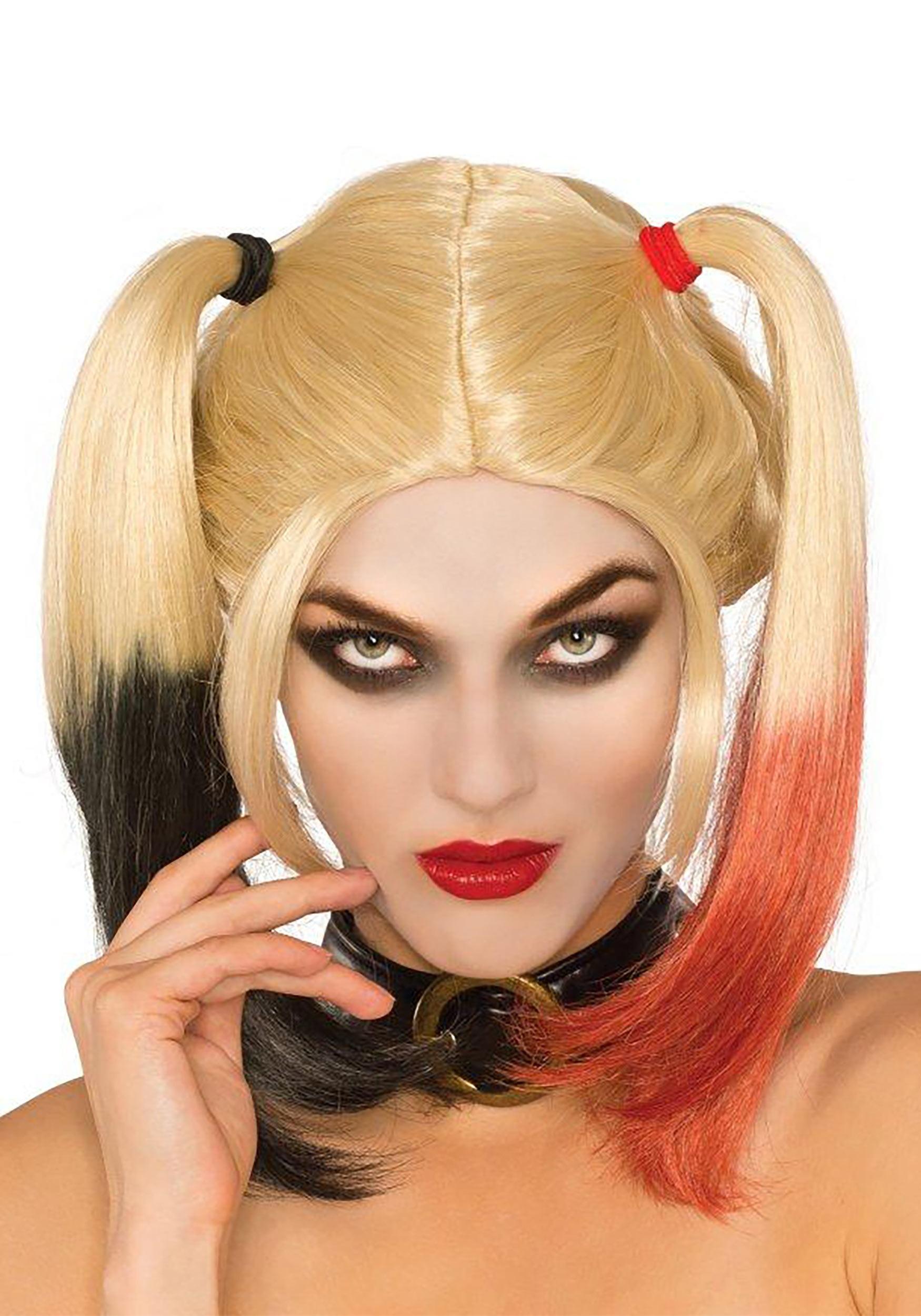 Deluxe Harley Quinn Women S Wig