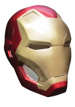 Kid Civil War Iron Man 2-Piece Mask