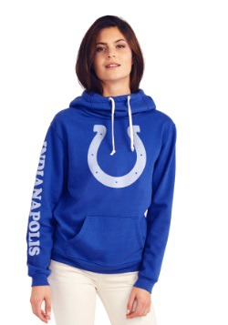 Indianapolis Colts Cowl Neck Women's Hoodie
