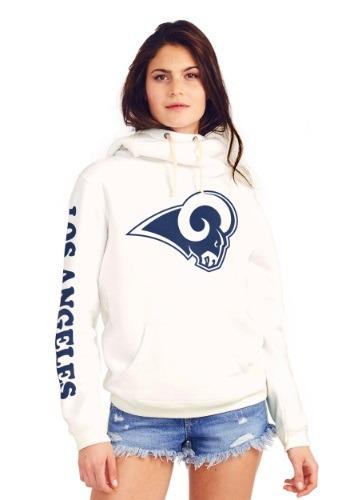 Los Angeles Rams Womens Cowl Neck Hooded Sweatshirt