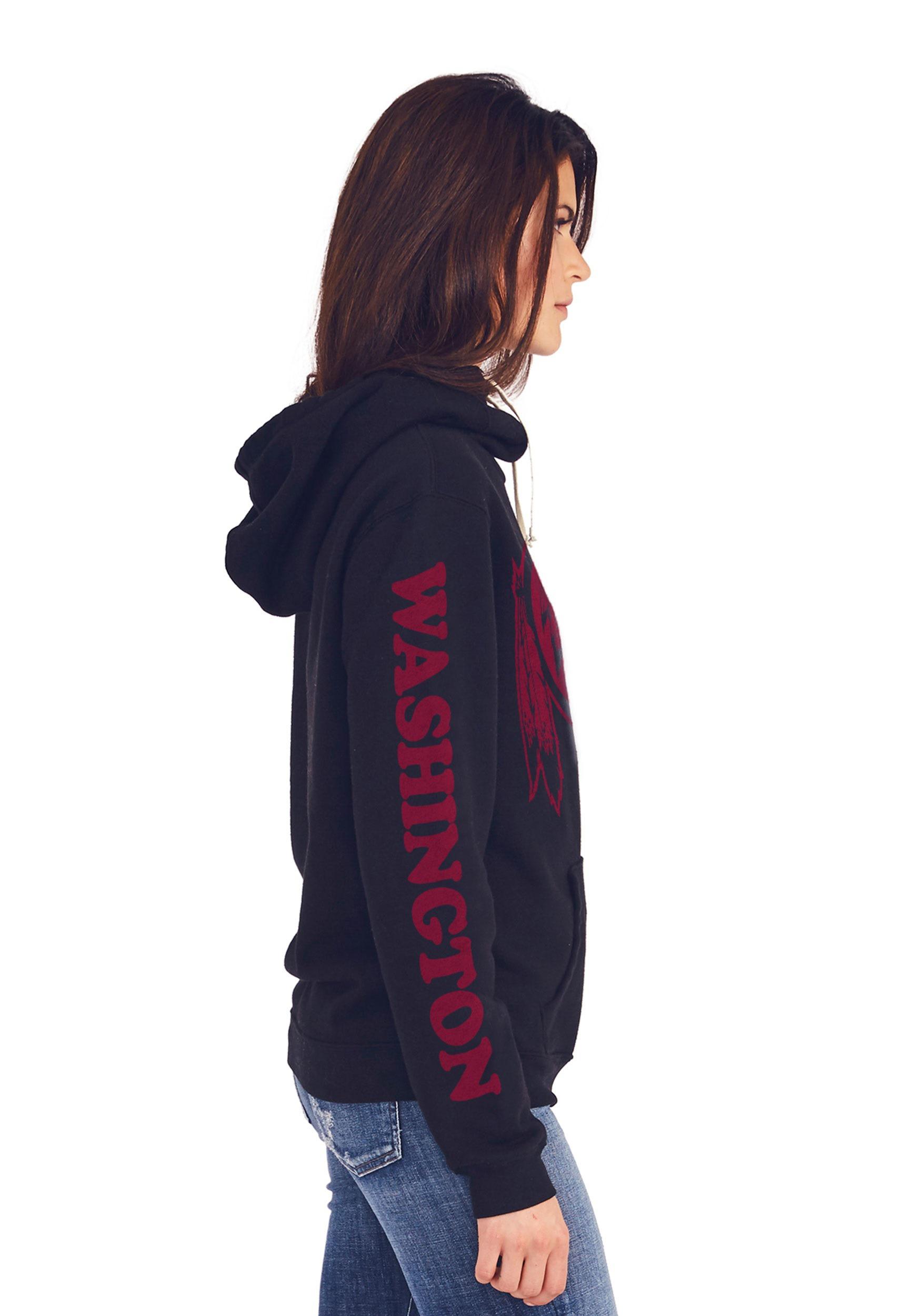 outlet store 72eca e68ce Washington Redskins Women's Cowl Neck Hooded Sweatshirt