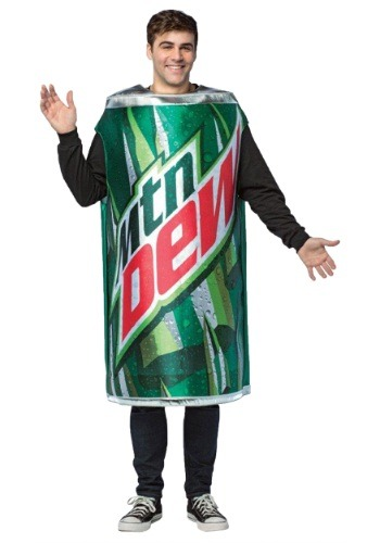 Can of Mountain Dew Costume